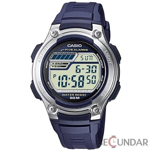 Ceas Casio Sports W-212H-2A Blue Barbatesc
