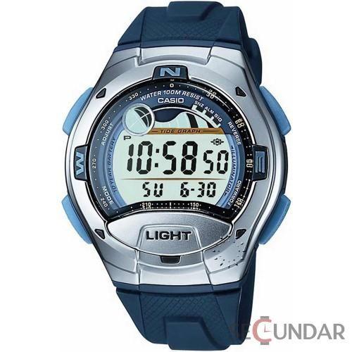 Ceas Casio Sports W-753-2A Digital Tide Barbatesc