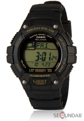 Ceas Casio Sports W-S220-9A Tough Solar Barbatesc