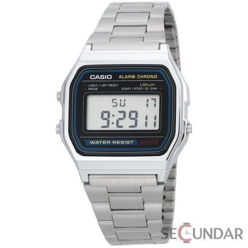 Ceas Casio Vintage A158WA-1D Daily Alarm Micro Light Barbatesc
