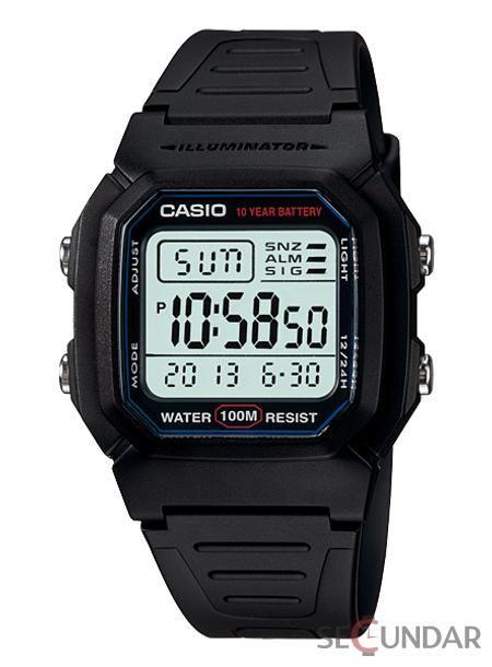 Ceas Casio W-800H-1A Illuminator Digital Barbatesc