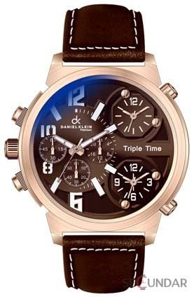 Ceas Daniel Klein Premium Triple Time DK 010103-3 Barbatesc
