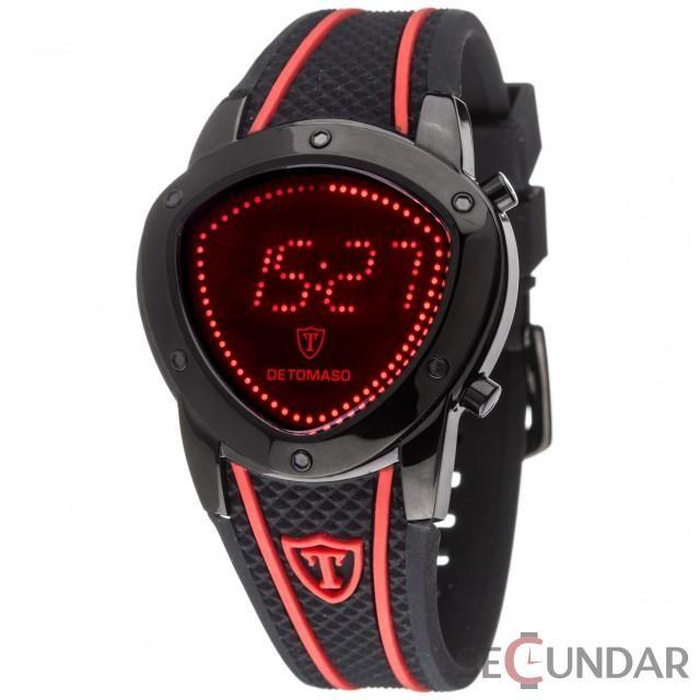 Ceas Detomaso COMPASSO LED Black DT2032-E Barbatesc