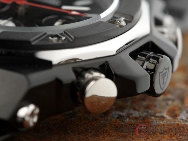 Ceas Detomaso Salerno Chronograph Black DT1008-B Barbatesc