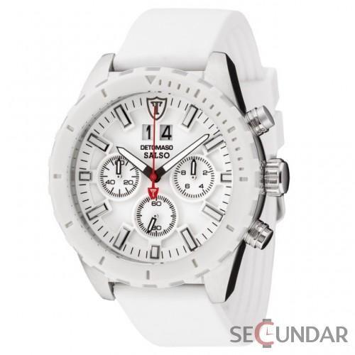Ceas Detomaso SALSO Chronograph White DT2049-E Barbatesc