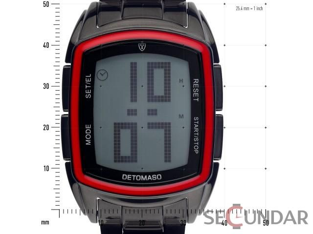 Ceas Detomaso SPACY TIMELINE LCD DT2013-D Barbatesc