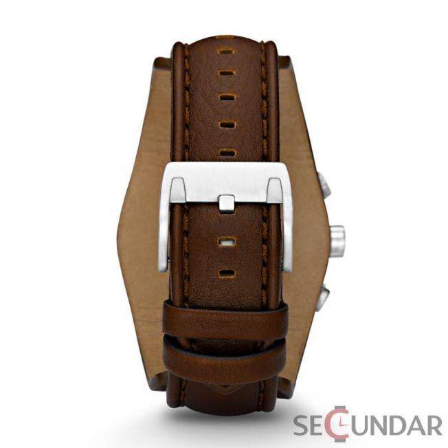Ceas Fossil CH2565 Cuff Leather Cronograf Barbatesc