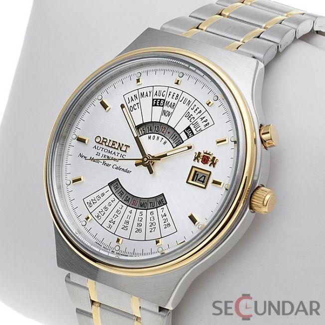Ceas Orient Automatic FEU00000WW Multi Year Calendar Barbatesc