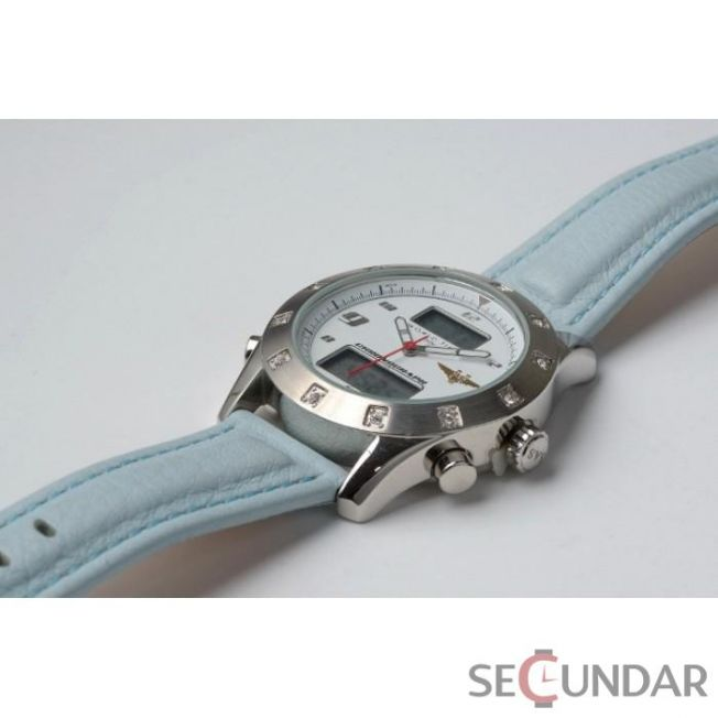 Ceas Sas Worldtime Leather Blue 3004blu De Dama