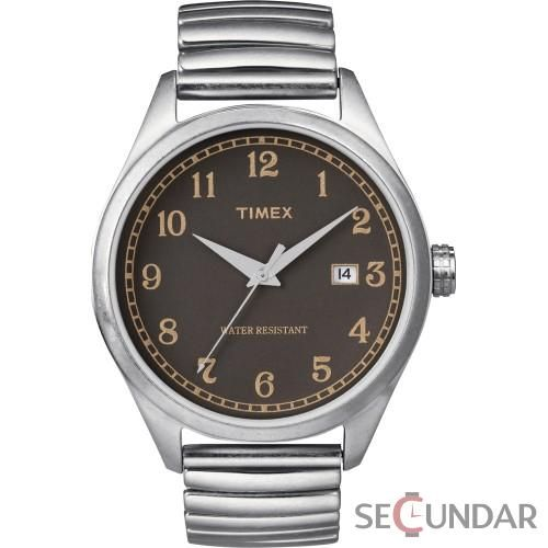 Ceas Timex Originals T2N400 T-Series Black Dial Barbatesc
