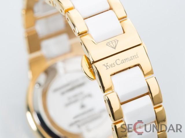 Ceas Yves Camani SIENNE White/Gold YC1051-D de Dama