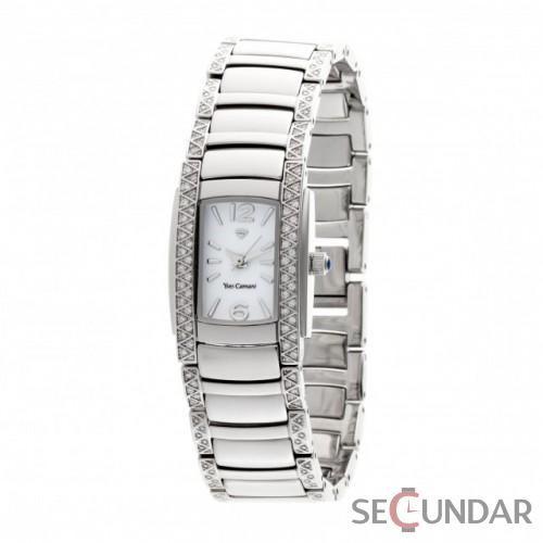 Ceas Yves Camani YC1035-B XXX Crystal Silver de Dama