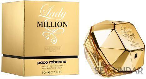 Paco Rabanne Lady Million Absolutely Gold EDP 80 ml de Dama