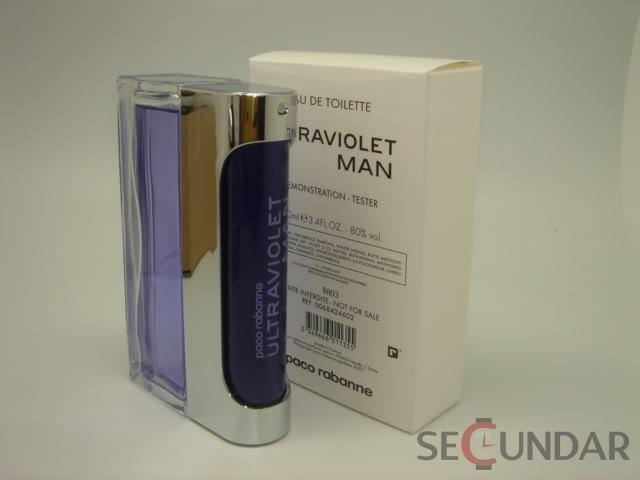 Paco Rabanne Ultraviolet EDT 100 ml Tester Barbatesc