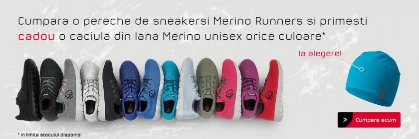 Promotie Merino Runner Caciula Unisex cadou