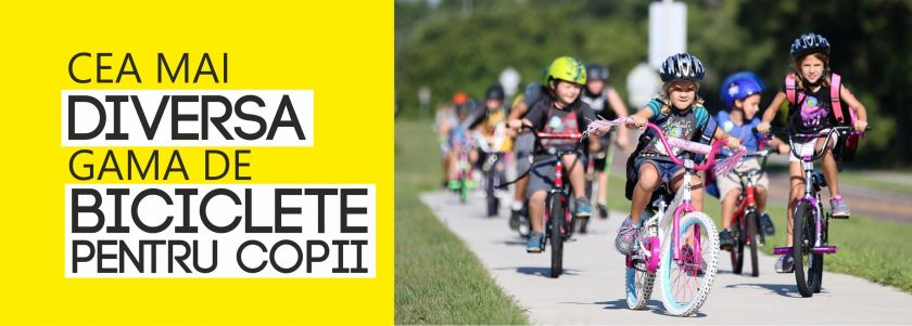 Cea mai diversa gama de biciclete pentru copii!