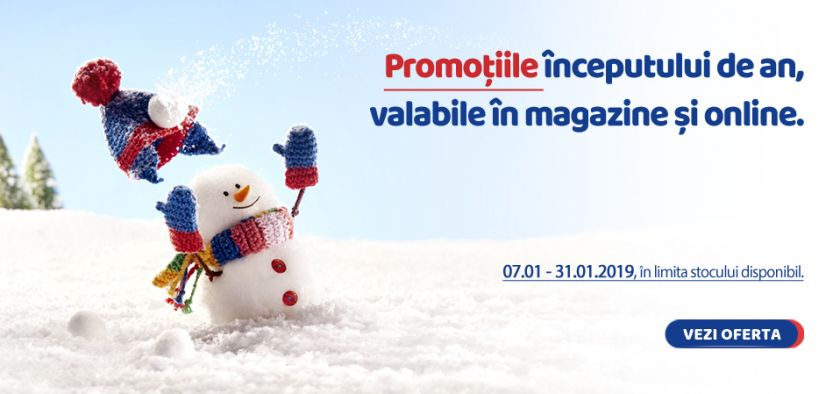 Promotii in magazine si online!