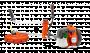 Motounealtă (Motocoasă) Husqvarna 535 RX + CADOU