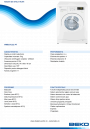 Masina de spalat automata Beko WMB51232PT, 5 kg, 1200 rpm, A+, 11 programe, PET