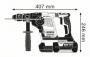 Ciocan rotopercutor SDS-plus GBH 36 VF-LI Plus Solo (fara acumulatori si incarcator) L-BOXX