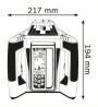 Nivela laser rotativa GRL 500 HV + LR 50 + Rigla de masurare GR 240 Professional + Stativ pentru constructii BT 170 HD Professional
